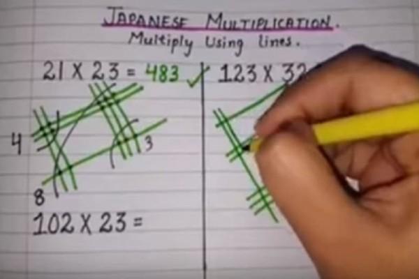 Θα πάθετε πλάκα: Ο απίθανος τρόπος που οι Ιάπωνες κάνουν πολλαπλασιασμό!