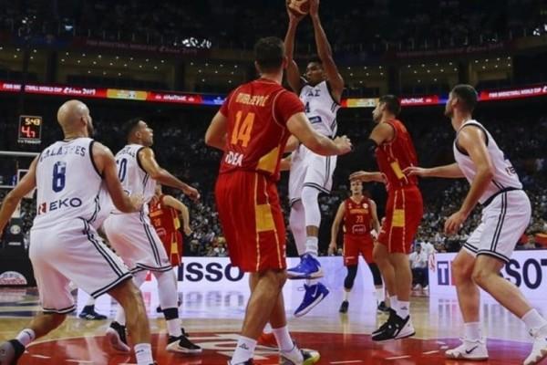 Μουντομπάσκετ 2019: Μεγάλη νίκη της Ελλάδας επί του Μαυροβουνίου!