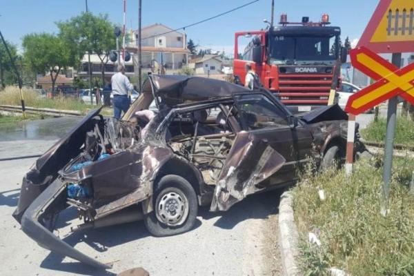 Συναγερμός στο Βόλο: Συγκρούστηκε τρένο με αυτοκίνητο!