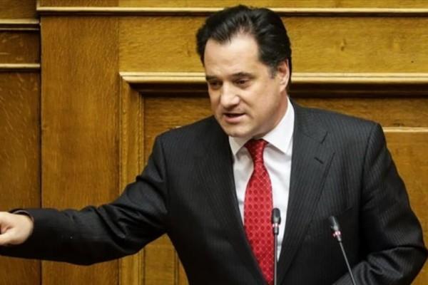 Γεωργιάδης: Τι δηλώνει για το νέο αναπτυξιακό νόμο!