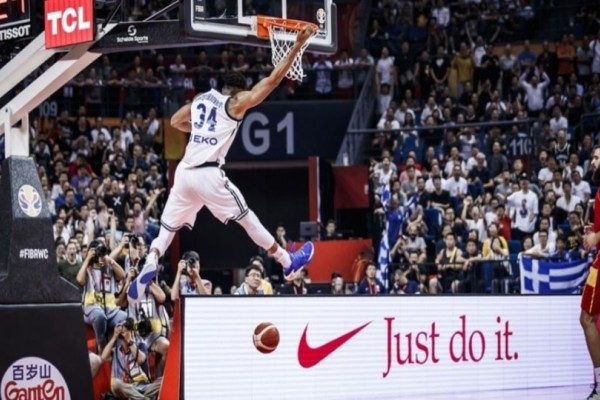 Μουντομπάσκετ 2019: Ο Αντετοκούνμπο στην καλύτερη φάση της 2ης ημέρας! (Video)