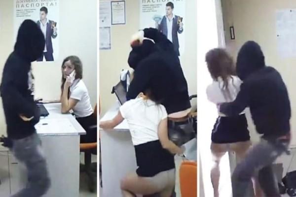 Μπήκε στο γραφείο και άρχισε να την χτυπάει! Δεν περίμενε όμως με τίποτα αυτή την αντίδραση…!