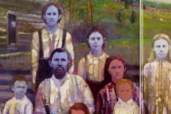 Αυτή η οικογένεια είχε... μπλε δέρμα!