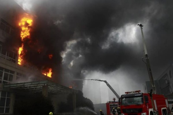 Κίνα: 19 νεκροί από φωτιά σε εργοστάσιο!
