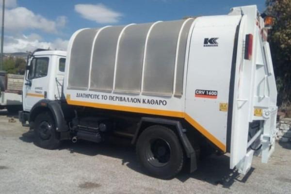 Φοβερή καινοτομία: Με απόβλητα κουζίνας κινείται απορριματοφόρο στο Χαλάνδρι!
