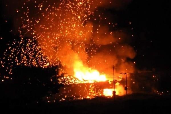 Εκρήξεις έγιναν σε αποθήκη πυρομαχικών στα Κατεχόμενα! (Video)