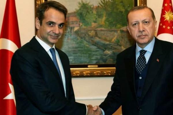 Σήμερα η κρίσιμη συνάντηση Μητσοτάκη - Ερντογάν!
