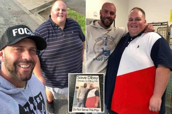Του είπαν ότι θα πεθάνει αν δεν κόψει το fast food, έχασε 120 κιλά σε 10 μήνες και...! (photos)