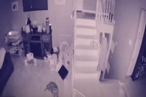 ΗΠΑ: Ζευγάρι καταγράφει φάντασμα μέσα στο σπίτι του! (Video)