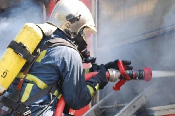 Ασπρόπυργος:  Μεγάλη φωτιά σε βιοτεχνία!