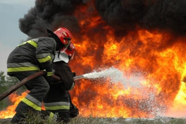 Φωτιά είναι σε εξέλιξη στον Αλμυρό Μαγνησίας!