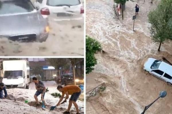 Φονικες πλημμύρες στην Ισπανία: Βίντεο ντοκουμέντο από τη διάσωση βρέφους!