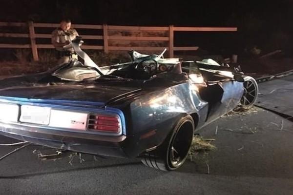 Σοκαριστικό τροχαίο για γνωστό ηθοποιό: Τραυματίστηκε σοβαρά στην πλάτη! (Photos)