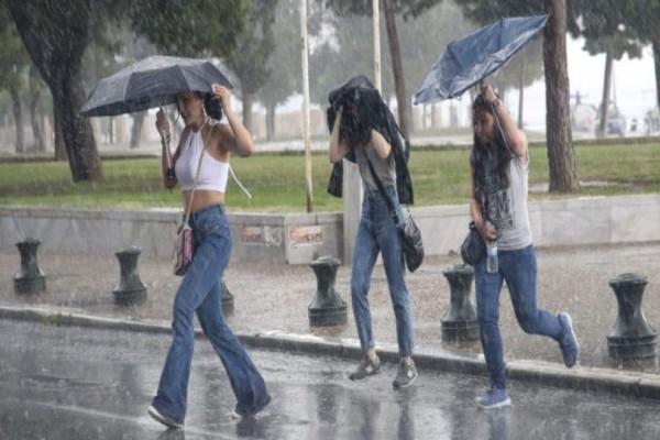 Έκτακτο δελτίο επιδείνωσης καιρού! Έρχονται βροχές, καταιγίδες και χαλάζι! Που θα «χτυπήσουν» τα ακραία φαινόμενα;