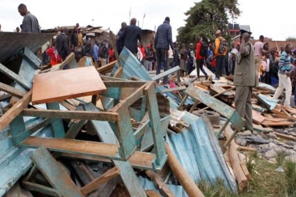 Τραγωδία: Κατέρρευσε αίθουσα σχολείου! 7 νεκροί μαθητές!