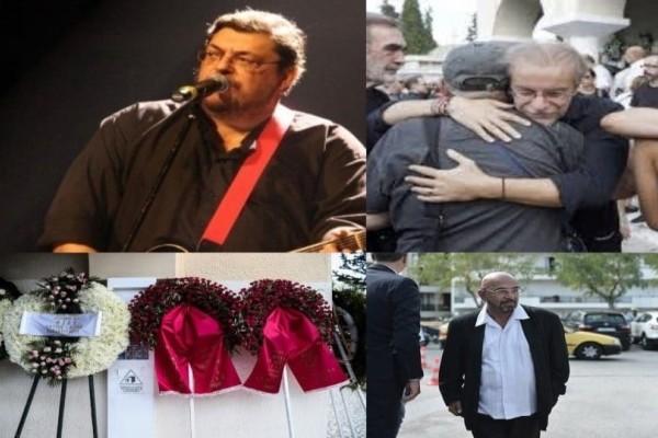 Σπάραξαν καρδιές στο τελευταίο αντίο του Λαυρέντη Μαχαιρίτσα! (Video)
