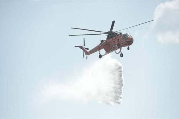 Σε ύφεση η φωτιά στο Λαγονήσι: Επιστρέφουν στα σπίτια τους οι κάτοικοι!