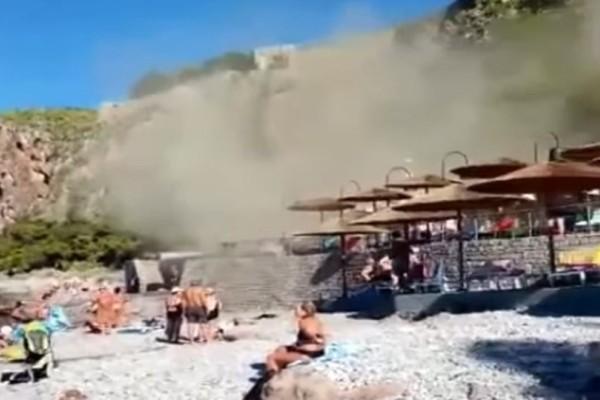 Τρόμος για λουόμενους σε παραλία του Ναυπλίου! (photo-video)