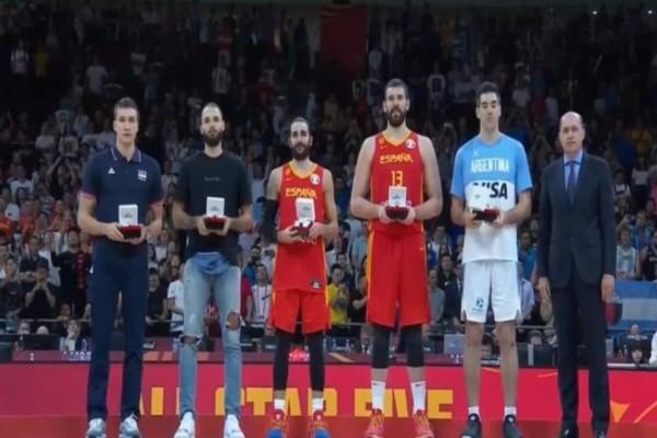 Μουντομπάσκετ 2019: Αυτή είναι η καλύτερη πεντάδα του τουρνουά!