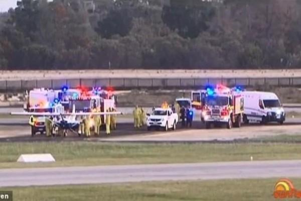 Πανικός για μαθητευόμενο πιλότο! Λιποθύμησε ο εκπαιδευτής του ενώ βρίσκονταν στον αέρα! (Video)