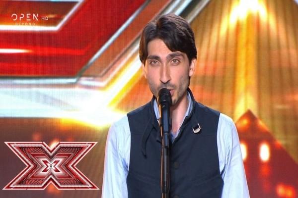 X-Factor: Ο διαγωνιζόμενος που τους τρόμαξε όλους! (Video)