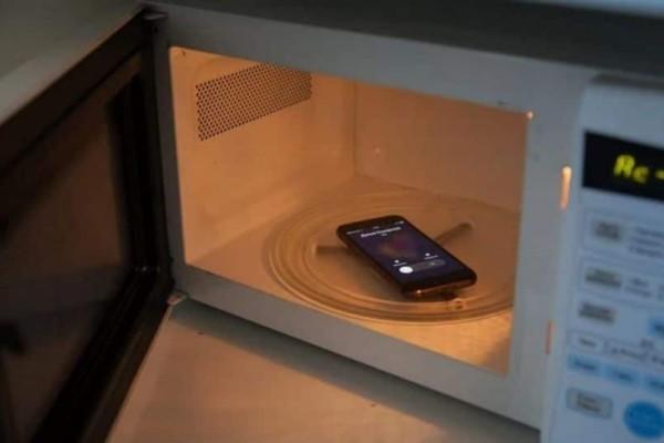 Να τι θα συμβεί αν βάλετε το κινητό σας στον φούρνο μικροκυμάτων και το καλέσετε! (Video)