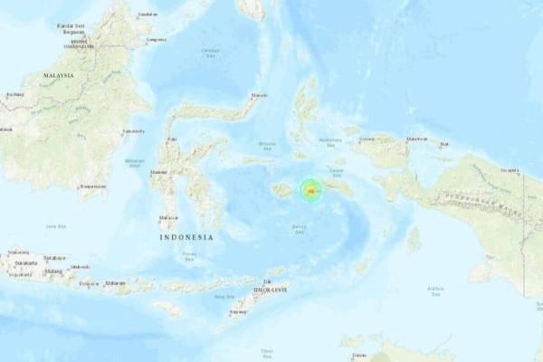 Ισχυρή σεισμική δόνηση 6,5 ρίχτερ στην Ινδονησία!