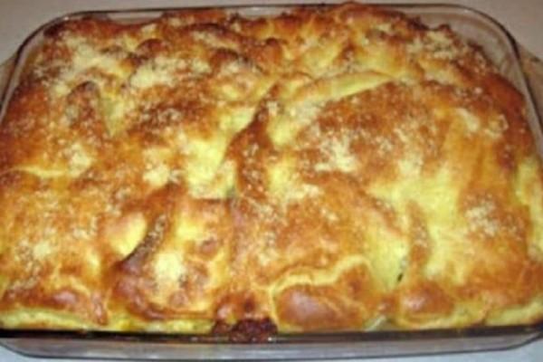 Συνταγή για το πιο εύκολο παστίτσιο χωρίς κιμά! Έτοιμο σε 45 λεπτά!