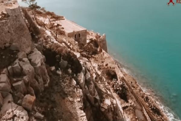 Συγκλονιστικό: Η βόλτα με drone στη Σπιναλόγκα! (Video)