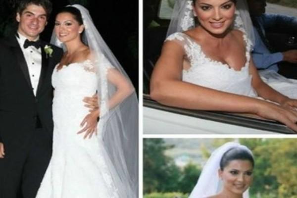 Έλαμψε η Σταματίνα Τσιμτσιλή: Γιατί όταν παντρεύτηκε όλοι κοιτούσαν τα παπούτσια της;