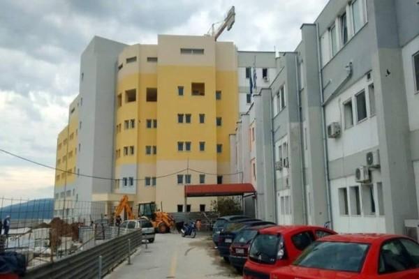 Σοκ στο νοσοκομείο Βέροιας: Έπεσαν σοβάδες στους γιατρούς!