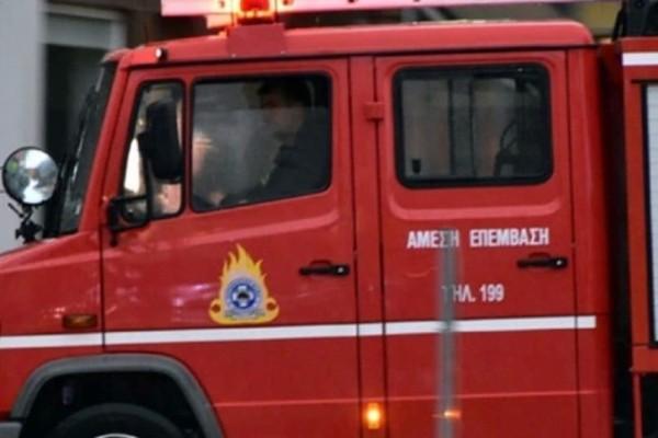Συναγερμός: Φωτιά στο Μαρκόπουλο!