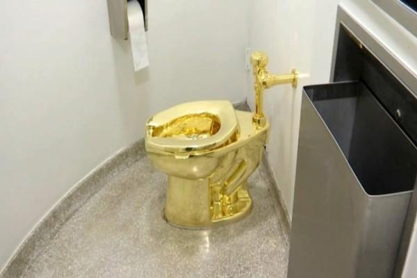 Σοκ στην Βρετανία: Έκλεψαν τουαλέτα από χρυσό 18 καρατίων!
