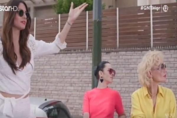GNTM: Ξεκίνησαν οι καυγάδες για Ζενεβιέβ - Χριστοπούλου! (Video)