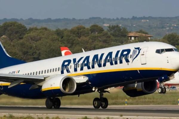 Τρελή προσφορά από την Ryanair: Πτήσεις από 9,99€!