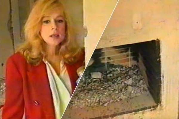 Αλίκη Βουγιουκλάκη: Βίντεο ντοκουμέντο μέσα από το καμένο σπίτι της!