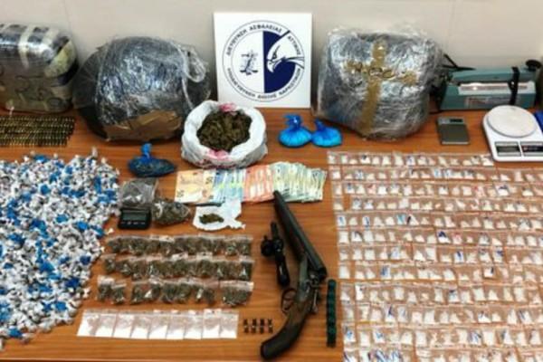 Σπείρα διακίνησης ναρκωτικών εξαρθρώθηκε στην περιοχή της ΑΣΟΕΕ!