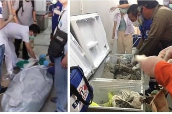 Τραγικό: Γυναίκα βρέθηκε τσιμεντωμένη μέσα σε καταψύκτη! (Photos)