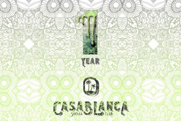 Casablanca Social Club: Γιορτάζει τον 1 χρόνο και σας προσκαλεί στο 3ημερο πάρτι του!