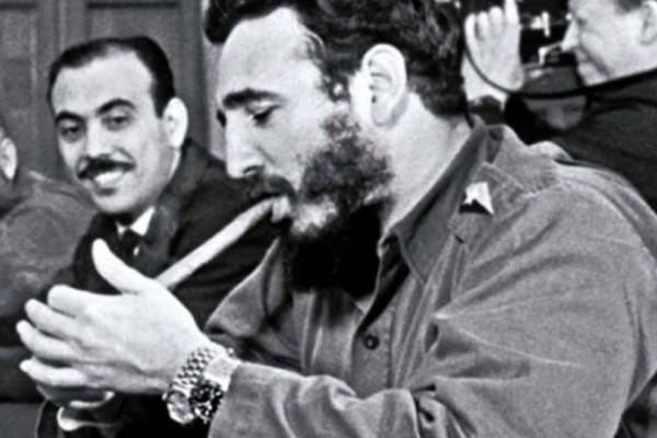 Φιντέλ Κάστρο: Η ιστορία πίσω από τα 2 πανάκριβα ρολόγια που φορούσε!