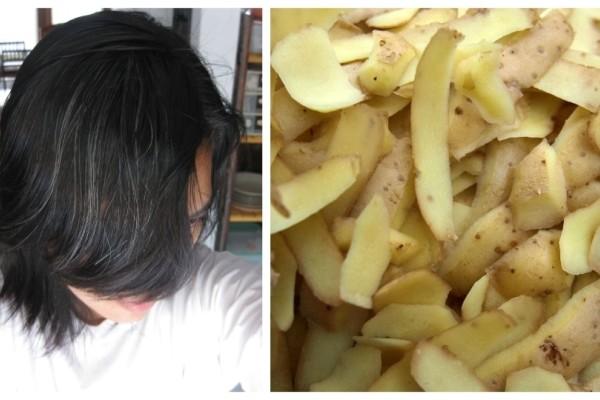 Βάλε φλούδες πατάτας στα μαλλιά σου και δες τι θα συμβεί!