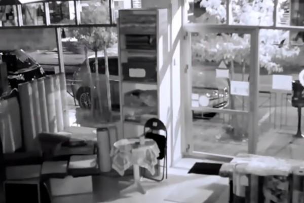 Θεσσαλονίκη: Διάρρηξη σε κατάστημα με χαλιά! Δείτε το σοκαριστικό βίντεο!