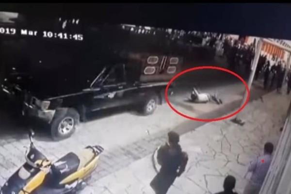Σοκ: Έδεσαν και έσερναν με αυτοκίνητο δήμαρχο!  (Video)