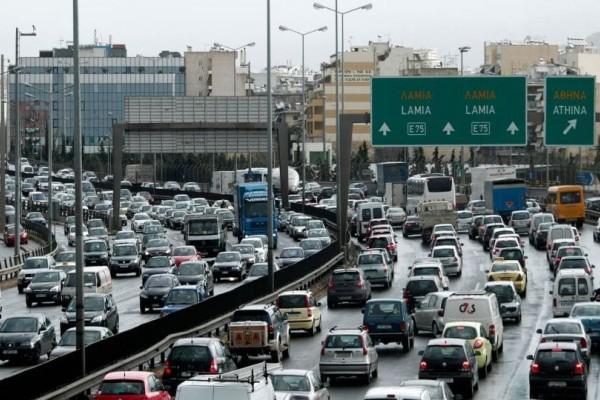 Χάος σε κεντρικούς οδικούς άξονες στην Αθήνα! Ποιους δρόμους να αποφύγετε; (photo)