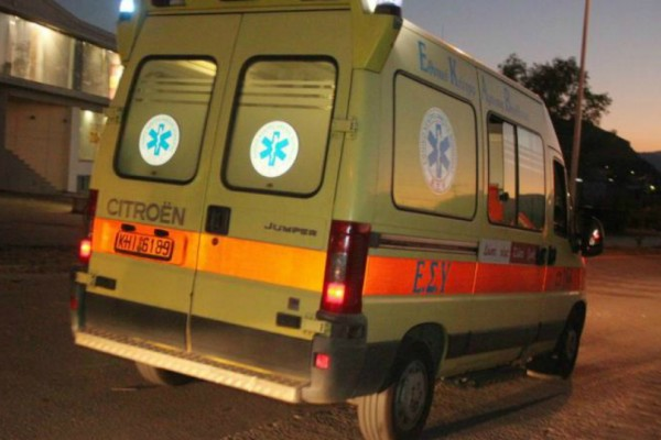 Σοκ στο Ρέθυμνο: Νταλίκα αναποδογύρισε μετά από σύγκρουση με ΙΧ!