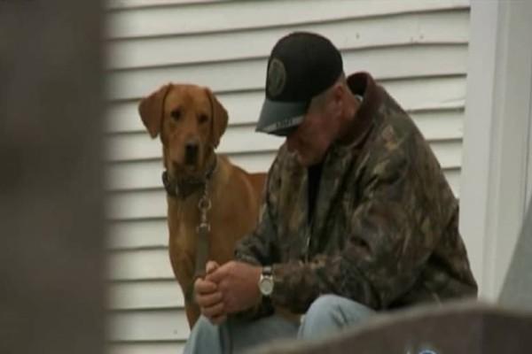 Έπασχε από καρκίνο σε τελικό στάδιο! Τότε ο σκύλος του τον κατεύθυνε σε μια παλιά εγκαταλελειμμένη εκκλησία! Και τότε συνέβη το θαύμα! (Video)