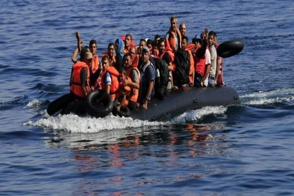 Νέα απόβαση μεταναστών στην Λέσβο! Οι βάρκες είναι γεμάτες κόσμο!