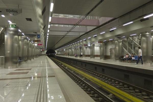 Χάος στο μετρό Χαλανδρίου! Καθυστερήσεις και ταλαιπωρία εξαιτίας της κακοκαιρίας!