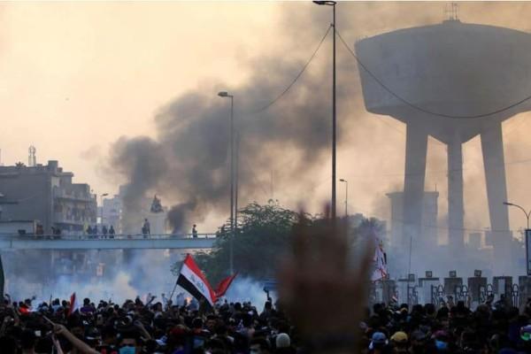 Ιράκ: Ματωμένη διαδήλωση! Τουλάχιστον 24 νεκροί!