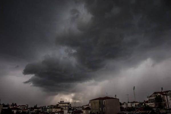 Wall cloud: Το σύννεφο που